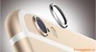 """Vòng kim loại bảo vệ camera cho iPhone 6-4.7"""" và iPhone  6 plus-5.5"""""""
