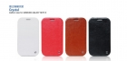 Bao Da Hoco Crystal leather case for Galaxy Note 2 N7100 HS-S016