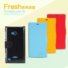 Bao Da NillKin Cho Nokia Lumia 720 Fresh Series Leather Case