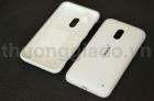 Nắp lưng, nắp đậy pin cho Nokia Lumia 620 Màu Trắng Back Cover