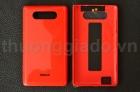 Nắp lưng, nắp đậy pin cho Nokia Lumia 820 Màu Đỏ ( ORIGINAL BACK COVER )