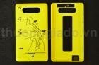 Nắp lưng, nắp đậy pin cho Nokia Lumia 820 Màu Vàng ( ORIGINAL BACK COVER )