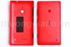 Nắp Lưng, Nắp Đậy Pin Nokia Lumia 520 Màu Đỏ Back Housing
