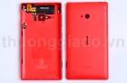 Nắp Lưng, Nắp Đậy Pin Nokia Lumia 720 Màu Đỏ Back Housing