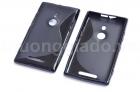 Ốp lưng silicone Nokia Lumia 925 Màu Đen Soft Case