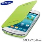 Samsung Galaxy S3 mini i8190 Flip Cover Hàng Chính Hãng, Màu Xanh Lá Cây