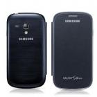 Samsung Galaxy S3 mini i8190 Flip Cover Màu Xanh Đen ( Hàng Chính Hãng )
