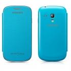 Samsung Galaxy S3 mini i8190 Flip Cover Màu Xanh Sáng Hàng Chính Hãng