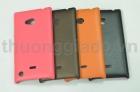 Vỏ ốp lưng giả da cho Nokia Lumia 720