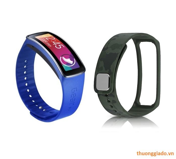 Dây đeo tay thay thế Samsung Gear Fit R350 Strap Chính Hãng