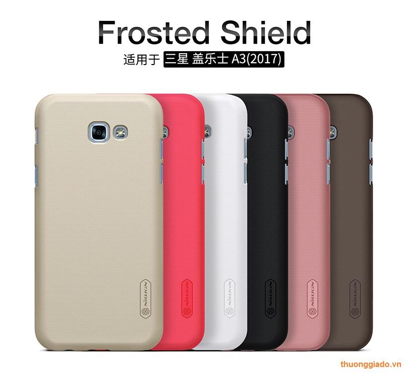 Ốp lưng sần NillKin cho Samsung Galaxy. A3 (2017), Samsung A320 Super Frosted Shield