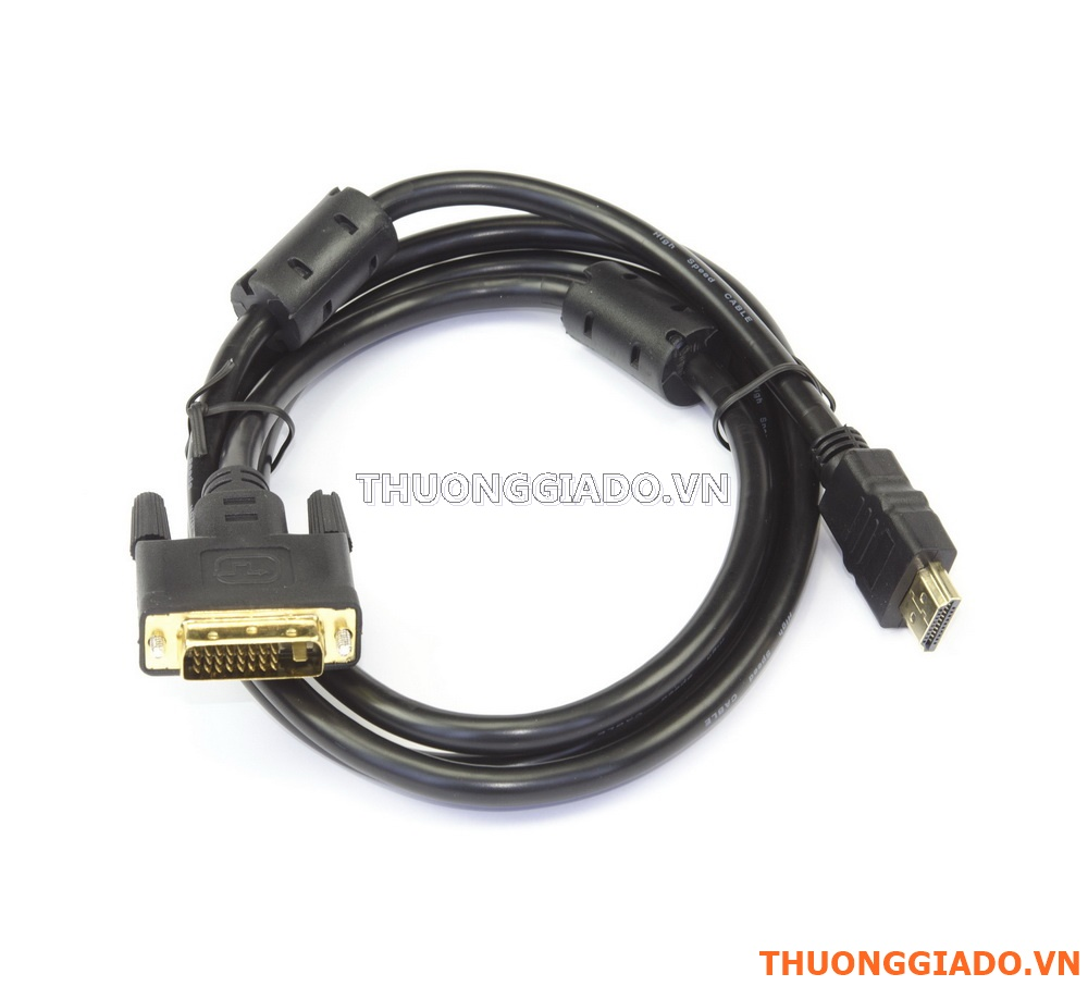 Cáp kết nối từ chuẩn HDMI ra DVI (dài 1.5m)