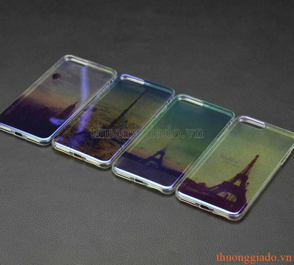 """Ốp lưng silicone mặt lưng in 3D cho iPhone 7 Plus (5.5""""), chủ để công trình"""