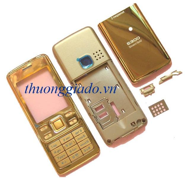 Vỏ Nokia 6300 sirocco gold