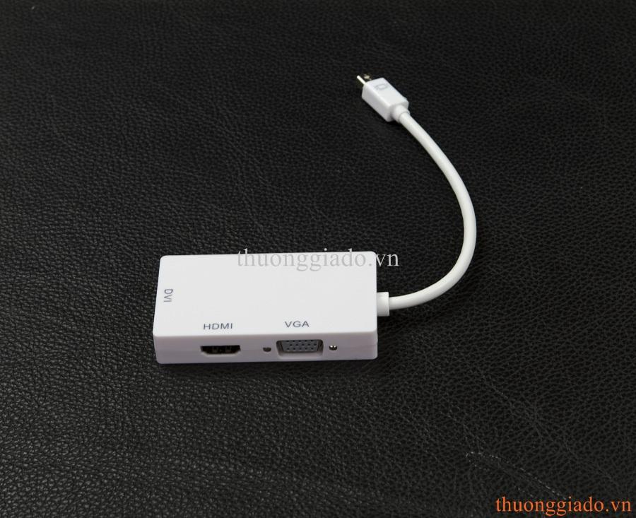 Cáp chuyển đổi từ Mini DisplayPort Sang HDMI,VGA,DVI