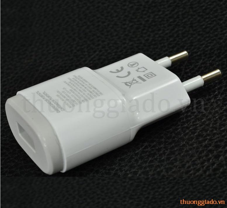 Củ Sạc LG VU F100,Vu 2 F200,E960,E980,F220k,F320 Adapter(5V-1.2A)