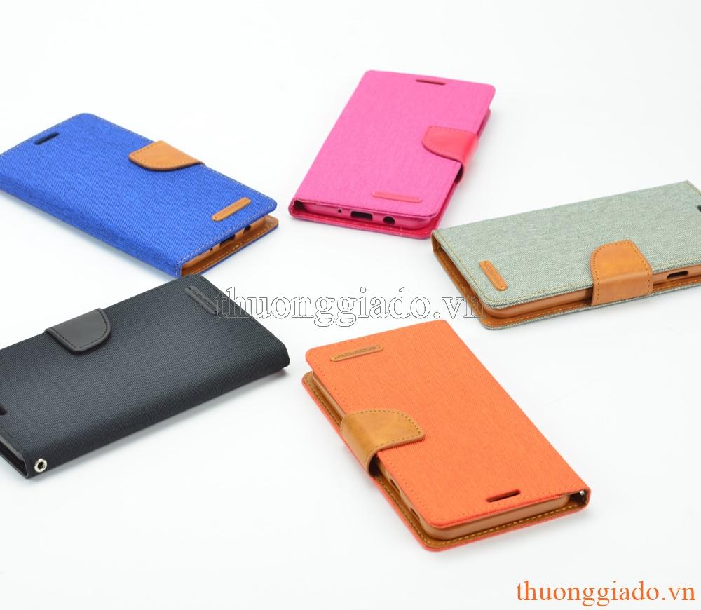 Bao da Samsung Galaxy. J7 Prime (CANVAS DIARY), thiết kế theo kiểu chiếc ví