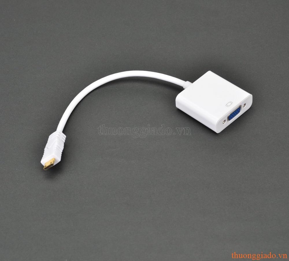 Cáp chuyển đổi từ Mini HDMI sang VGA