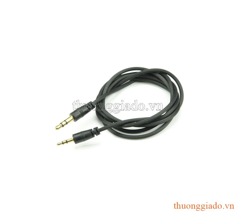 Dây tín hiệu âm thanh chuyển đổi từ chân tròn 3.5mm sang 2.5mm (90cm)