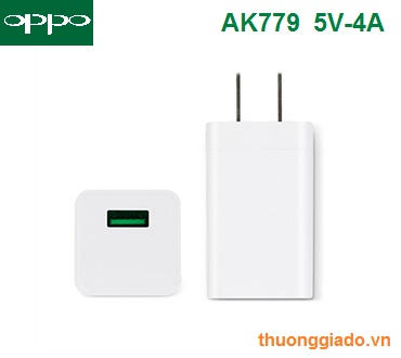 Củ sạc nhanh OPPO AK779 (5V-4A) chính hãng