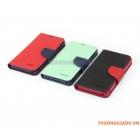 Bao Da Cầm Tay Sony Xperia Z, Sony L36H (Hiệu MERCURY, NEW FANCY DIARY CASE)