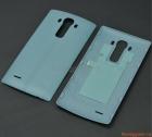 Nắp lưng (nắp đậy pin) LG G4 F500 Màu xanh da trời nhạt (Nhựa giả da)