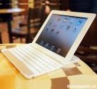 Bàn phím nhôm kết nối không dây Bluetooth cho iPad 2, iPad 3, iPad 4 bluetooth keyboard