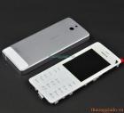 Bộ vỏ Nokia 515, Nokia Asha 515 Màu Trắng Bạc