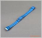 Dây đeo tay thay thế Fitbit Alta/ Fitbit Alta HR màu xanh (thép không gỉ,mắt dây to)