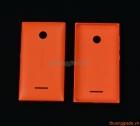 Nắp lưng (nắp đậy pin) Microsoft Lumia 435, Lumia 532 Màu Cam Original Back Cover