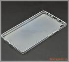Ốp lưng silicone Lenovo Tab3 8 Plus, viền trong suốt lưng mờ đục