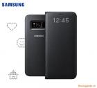 Bao da Samsung Galaxy S8/ G950 Led View Cover (màu đen)