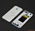 Thay thế nắp lưng HTC One E8 bản 2 sim màu trắng (nắp đậy pin, vỏ)