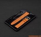Dây đeo tay cho đồng hồ thông minh Samsung Gear S2 Màu Da Bò (mẫu 3)