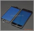 Thay kính (ép kính) màn hình iPhone 6s màu đen(có sẵn gioăng nhựa)