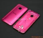 Thay vỏ HTC One M9 (nắp lưng, nắp đậy pin, màu hồng