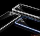 Ốp lưng Samsung Galaxy S8+/ S8 Plus/ G955, lưng trong viền mạ màu (ROCK Pure Series)