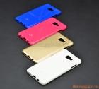 Ốp lưng silicone Samsung Galaxy C9, Galaxy C9 Pro, loại thời trang hiệu Jelly Mercury