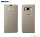 Bao da Samsung Galaxy S8+/ S8 Plus/ G955 Led View Cover chính hãng (màu vàng gold)