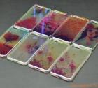 """Ốp lưng silicone iPhone 7 Plus (5.5""""), mặt lưng in 3D, chủ đề hoa lá sắc màu"""