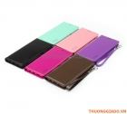 Bao Da Cầm Tay Samsung Galaxy S7 Edge G935 (Hiệu HANMAN, CANVAS DIARY)