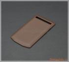 Nắp lưng da (nắp đậy pin) Blackberry P'9983 porsche design chính hãng màu nâu