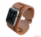 Dây đeo tay thay thế Apple Watch 42mm (hiệu Coteetci, W10, chất liệu da bò)