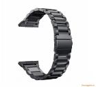 Dây đồng hồ thông minh Fitbit Ionic màu đen (thép không gỉ, kiểu cổ điển)