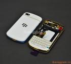 Thay bộ vỏ Blackberry Q10 màu trắng gold chính hãng