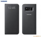 Bao da Samsung Galaxy S8+/ S8 Plus/ G955 Led View Cover chính hãng (màu đen)