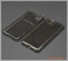 Ốp lưng silicone Blackberry KeyOne (xám đen)