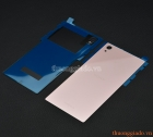 Nắp lưng kính (nắp đậy pin) mặt kính lưng Sony Xperia  Z5 Premium/ Z5 Plus màu hồng