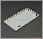 Ốp lưng silicone Lenovo Tab3 7, viền trong suốt lưng mờ đục