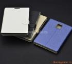 Bao da cầm tay nắp gập mở cho Blackberry Passport Q30 (flip leather case)